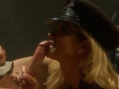 Lascivious Policewoman Jessica Drake Fucking and Drubbing In Uniform