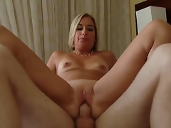 Golden-haired hottie Sexy Suz gets nailed and enjoys intense pelasure while fucking with Patrick J Knight