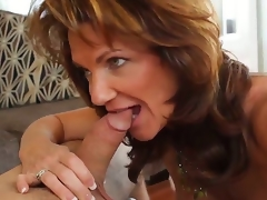 Hot stud Daniel Hunter pleases mature mamma Deauxma with one nasty fuck