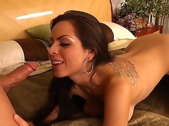 Brunette Yurizan Beltran and her horny bang buddy Derrick Pierce have a lot of sexual energy to spend