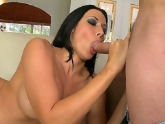 Rachel Starr is one irresistible cougar. She was down in Miami for a vacation and she decided to go down South on our chap Tonys stiff meat. After this, Rachel got her flowing twat pounded hardcore.