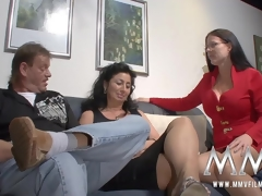 MMV Films sex nanny watches a mature pair