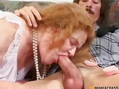 Woman on crutches sucks wang